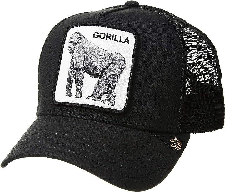 Cappellino goorin bros. king of the jungle trucker cap - grey BO-101-0333