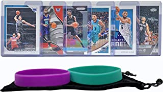 Charlotte Hornets Basketball Cards: Kemba Walker, Jeremy Lamb, Marvin Williams, Malik Monk, Nicolas Batum, Tony Parker ASSORTED Basketball Trading Card and Wristbands Bundle