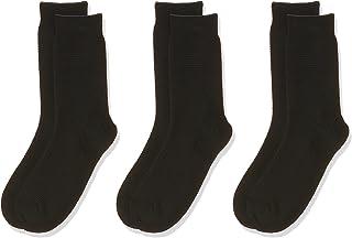 Jack and Jones Men's 3-Pack Cotton Fipo Calf Socks