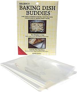 Regency Wraps Baking Dish Buddy Casserole Dish Liners (Set of 6), Clear