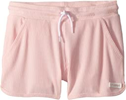 2X2 Drapey Rib Shorts (Big Kids)