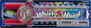 Leading Edge Novelty Lighted Whirly Wheel Vintage Retro Hand-held Spinning Magnetic Flashing Toy