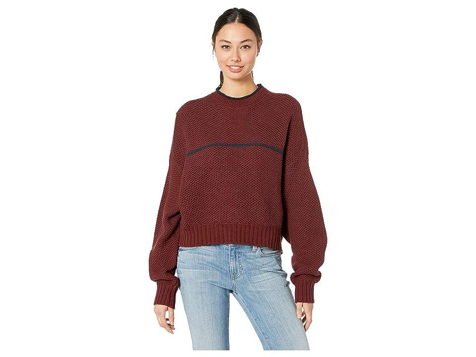 RVCA Jammer Sweater (Magenta Fade) Women