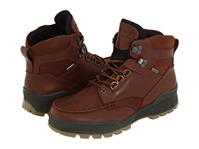 ECCO Track II GTX High (Bison Leather/Bison Oiled Nubuck) Men