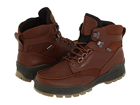 Ecco Track II GTX High Mens Bison Leather/Bison Oiled Nubuck W251399HB Boots