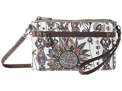 Sakroots Corin Flap Wallet (Pastel Spirit Desert) Wallet