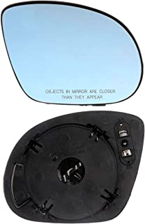 APDTY 67878 Side View Mirror Replacement Glass Fits Right 2003-2006 Mitsubishi Outlander Models With Heat Replaces OEM 7632A222 Passenger-Side