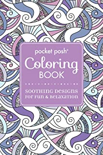 Pocket Posh Adult Coloring Book: Soothing Designs for Fun & Relaxation, Volume 5