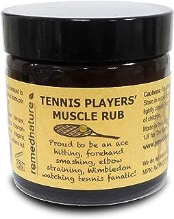 Remedinature Tennis Players' Muscle Rub, Natural Massage Balm 60ml
