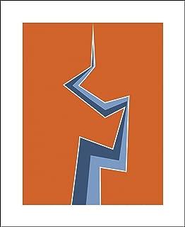 Plaid Design Joe Versus The Volcano Fine Art Print - 18x22 - Lightning Bolt - Signed/Numbered Limited Edition Pop Art Giclée - Artwork by John Lathrop