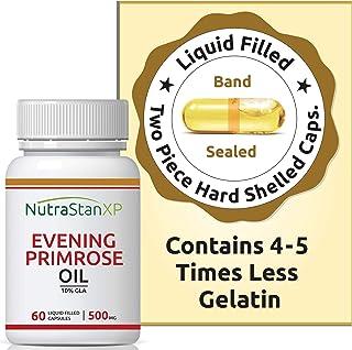 NutrastanXP Evening Primrose Oil Extra Virgin Cold Pressed, 500 mg - 60 Capsules