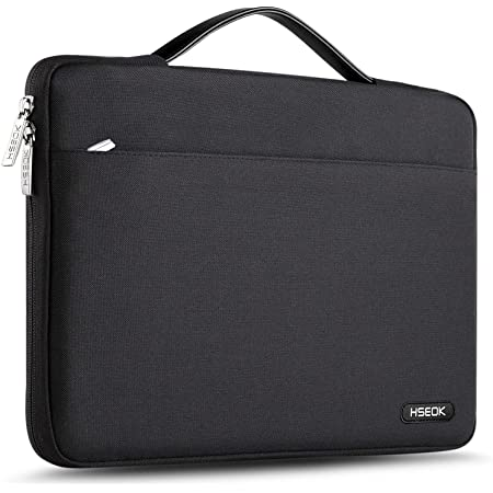 Aoligei Mo-Ns-Ta X Polyester Waterproof Laptop Case Compatible with Briefcase Tablet Case Black 17 Inch