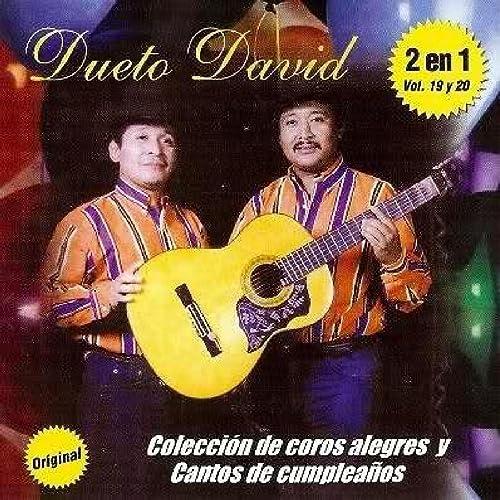 Coleccion Coros Alegres Vol 19 Y 20 by DUETO DAVID on Amazon ...