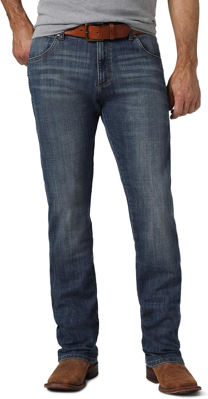 New product! New type Wrangler Men's Retro Slim Straight Leg Jean Las Vegas Mall