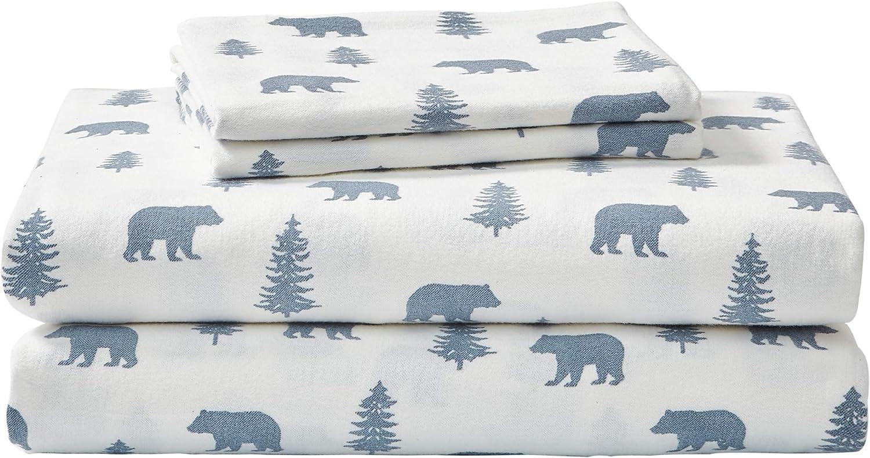Fresno Mall Eddie Bauer - Flannel Collection depot 100% S Cotton Premium Bedding