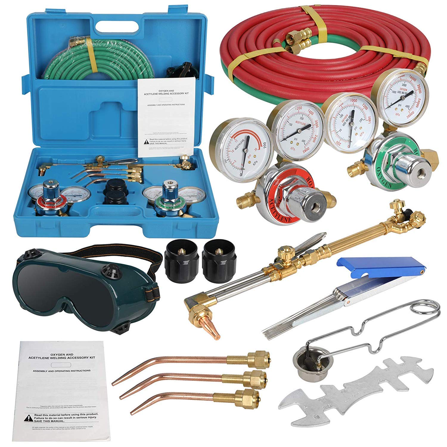 ZENSTYLE Acetylene Cutting Portable Regulator