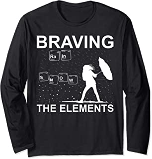 Funny Weather Geek Meteorologist Extreme Weather Gift Idea Long Sleeve T-Shirt