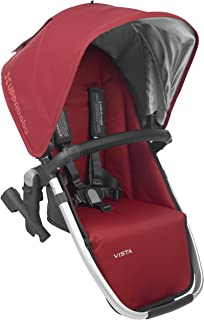 2018 UPPAbaby Vista RumbleSeat -Denny (Red/Silver/Black Leather)