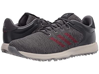 adidas Golf S2G (Grey Three/Grey Four/Collegiate Burgundy) Men