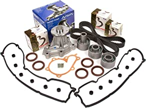 Evergreen TBK180VCA Fits 90-96 Nissan 300ZX Non & Turbo Timing Belt Kit Valve Cover Gasket AISIN Water Pump
