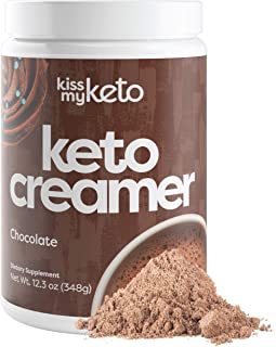 Kiss My Keto Keto Cocoa - Sugar Free Hot Chocolate MCT Oil Powder for Low Carb Ketogenic Diet, Derived Solely from Coconut...