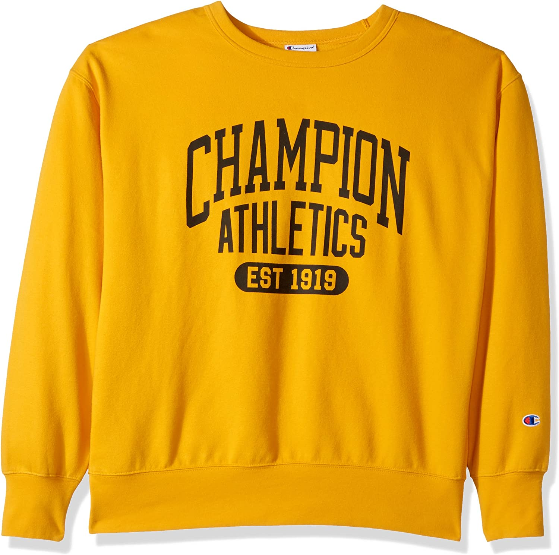 Champion Mens Heritage Fleece Sweatshirt Sweatshirt