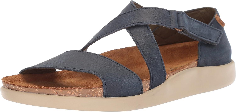 El Naturalista Womens N5098 Pleasant Ocean Koi Flat Sandal