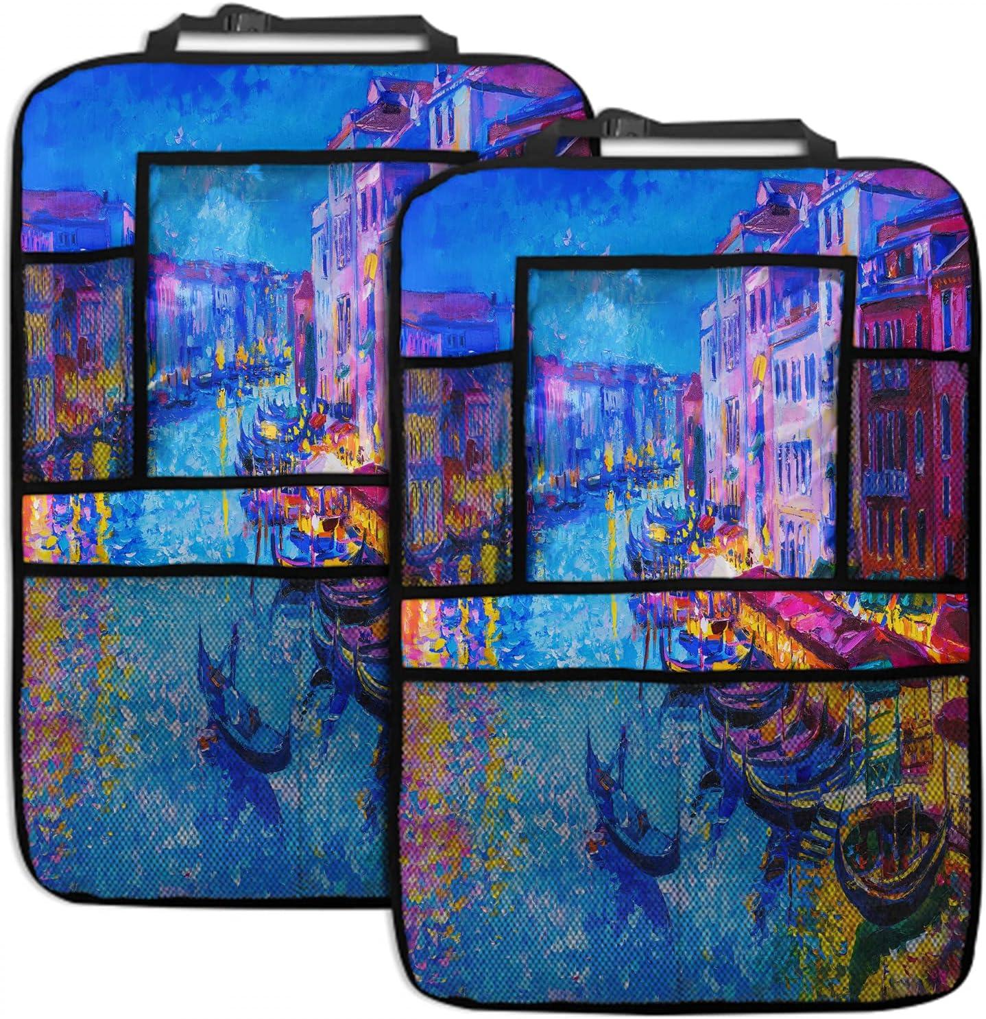 SSOIU Venice Backseat Max 76% OFF Car Organizer 2 Branded goods Italy Pack gondola ri boat