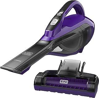 Black + Decker hlva325jp07Pet de litio Hand Vac, púrpura, Pet púrpura