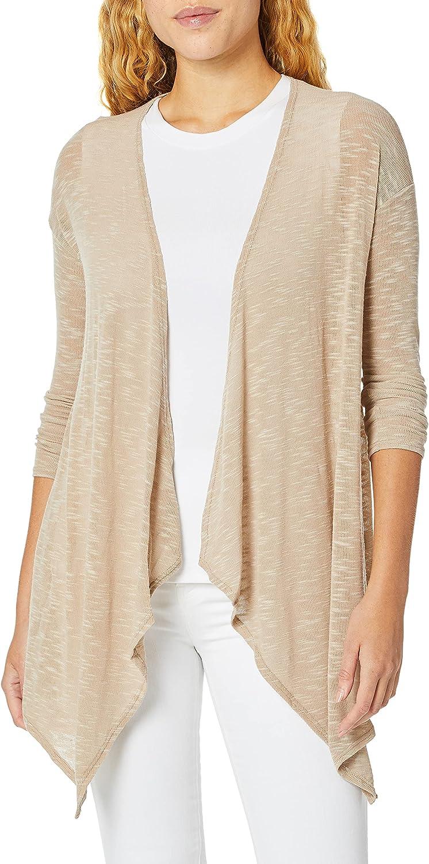 PURE STYLE Girlfriends Women's Draped Long Cardigan Sweater
