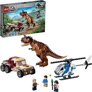LEGO Jurassic World Carnotaurus Dinosaur Chase 76941 Building Building؛ اسباب بازی سرگرم کننده برای کودکان خلاق ؛ جدید 2021 (240 قطعه)