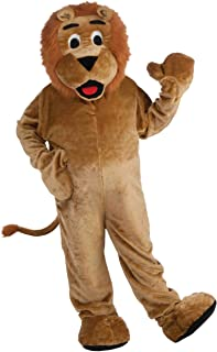 Lion Deluxe Mascot Adult Costume