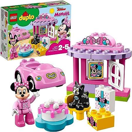 LEGO 10873 Duplo La Fête d'anniversaire De Minnie Jeu De Construction avec Une Figurine Et Voiture Jouet pour Enfant 2 - 5 Ans