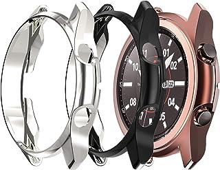 KPYJA 3-Pack for Samsung Galaxy Watch 3 Case 41 مم، غطاء حماية ناعم من البولي يوريثان اللدن بالحرارة متوافق مع هاتف Samsun...