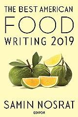 Best American Food Writing 2019 Paperback