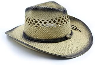 Play Kreative Straw Cowboy Cowgirl Costume Hat Brown