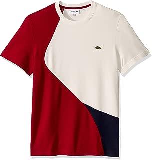 Lacoste Mens Short Sleeve 2 Ply Pique 37.5 Regular Fit T-Shirt