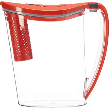 Brita Stream Filter as You Pour Pitchers, RED