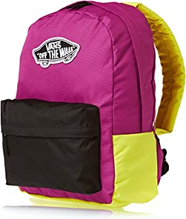 ff6f30abd13 Vans Women's G Realm Backpack Multi-Coloured Black/Deep Orch Size: 50 X