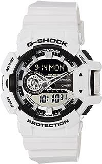 G-SHOCK Men's GA400-7A Year-Round Analog-Digital Automatic White Watch