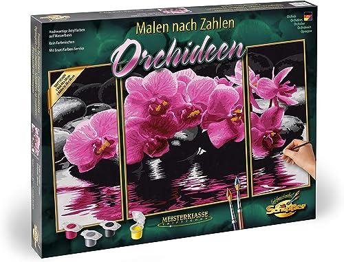 MALEN NACH ZAHLEN ~~ Wellness Oase ~~ 609260681 Schipper MnZ Triptychon 50x80 cm