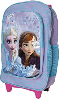 Frozen Childrens/Kids Believe In The Journey Travel Trolley Backpack (UK Size: One Size) (Purple/Blue/Pink)