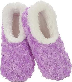 Slumbies! Slippers for Women - Roses in Bloom - Womens Slippers