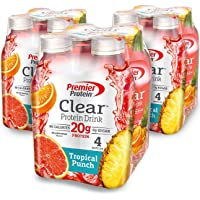 12-Count Premier Protein Tropical Punch Clear Protein Drink
