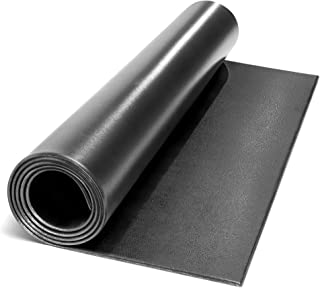 Marcy Fitness Equipment Mat and Floor Protector for Treadmills, Exercise Bikes, and Accessories Mat-366 (78 x 36 x 0.25 Thickness)