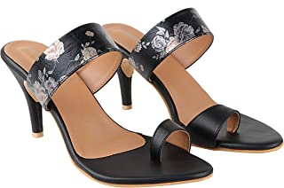 Do Bhai Women Material Synthtic Stylish Fashion Heel Sandal, Stelettos Heel(Sandal-510)