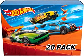 Hot Wheels 20 Car Gift Pack (Styles May Vary), Multicolor, 7.6