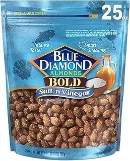 Blue Diamond Almonds, Salt N' Vinegar, 25 Ounce
