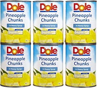 Dole Pineapple Chunks in Heavy Syrup 20 oz