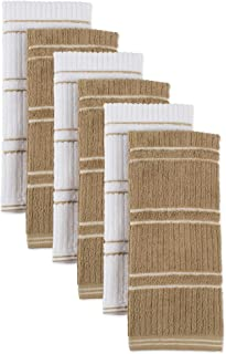 Ribbed Terry Kitchen Dish Towels (16x26